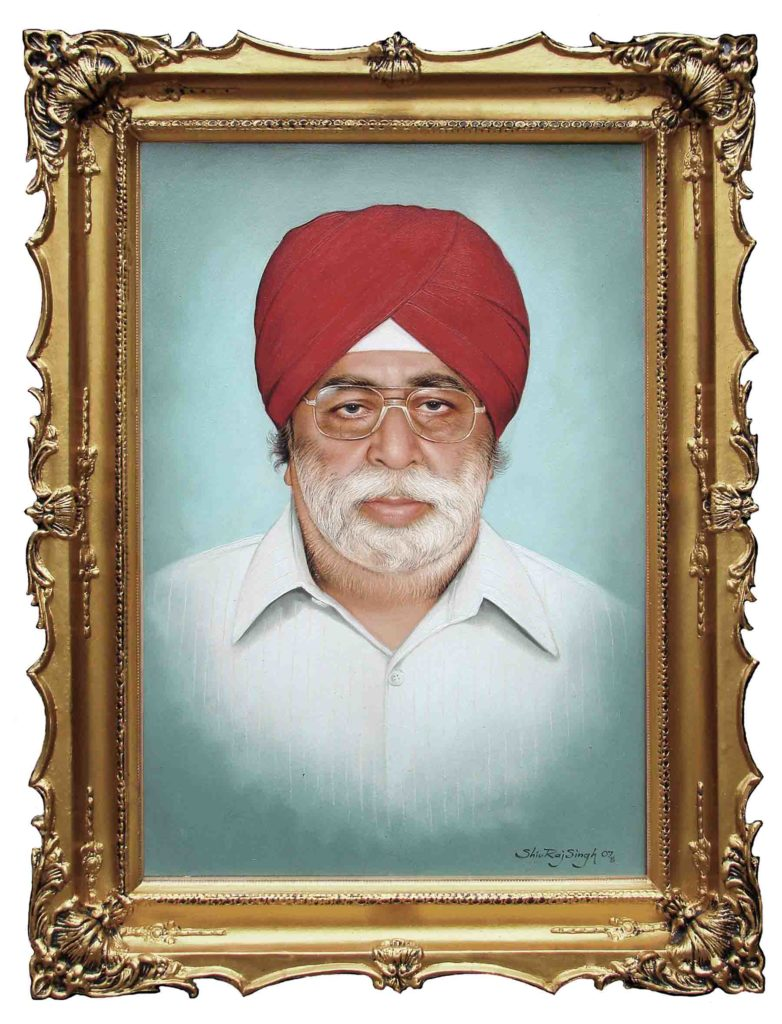 Portrait of A Sardarji