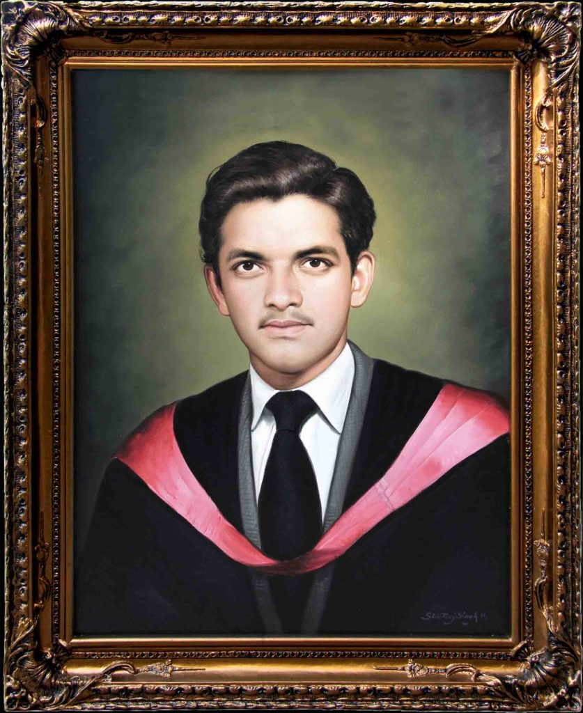 Portriat of A Barrister